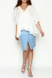 THINK CLOSET Flowy Dream Blouse - Side cropped