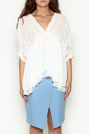THINK CLOSET Flowy Dream Blouse - Front full body