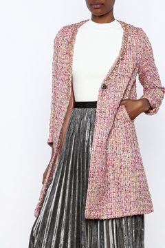 THINK CLOSET Girly Tweed Jacket - Product List Image