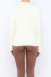 THINK CLOSET Ice Cream-Pom Sweater - Back cropped