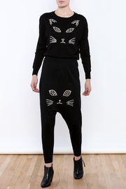 THINK CLOSET Meow-Face Sweater - Front full body