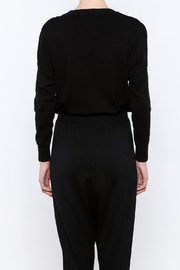 THINK CLOSET Meow-Face Sweater - Back cropped