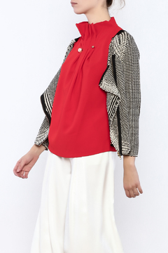 THINK CLOSET Modern Side Zip Sweater - Product List Image