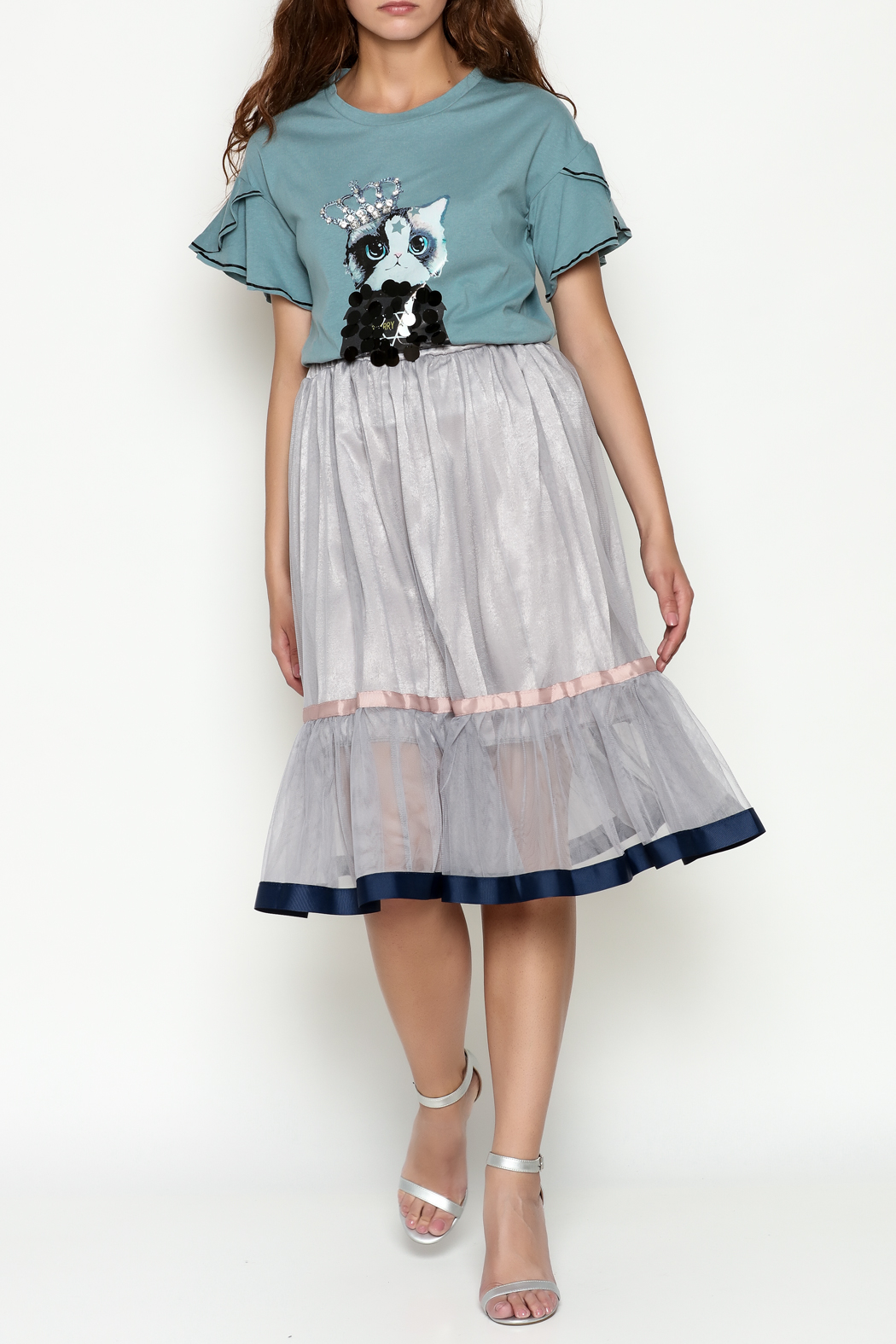 THINK CLOSET Princess Skirt - Side Cropped Image