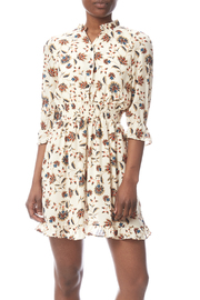 THINK CLOSET Retro Floral Dress - Product Mini Image