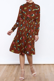 THINK CLOSET Retro Rouge Dress - Product Mini Image
