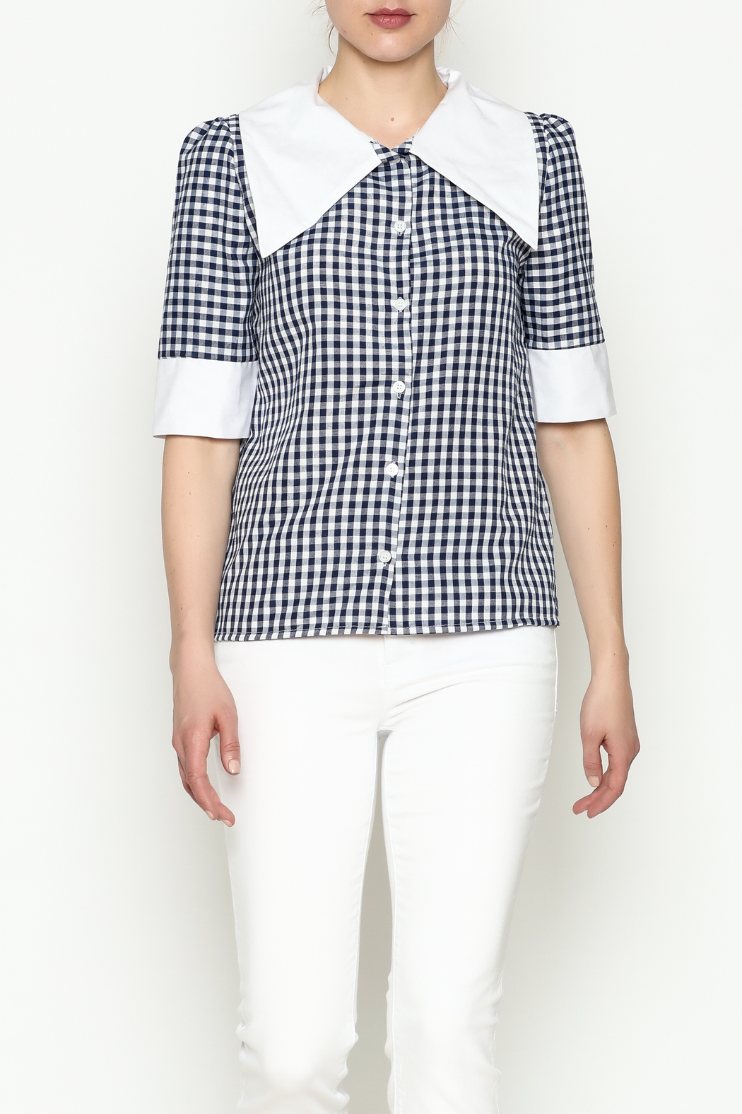 THINK CLOSET Sailor Top - Main Image