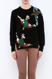 THINK CLOSET Sequined Starling Sweater - Side cropped