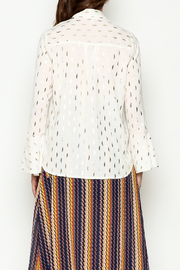 THINK CLOSET Shimmer Blouse - Back cropped