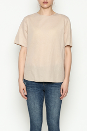 THINK CLOSET Simple Tie Tee - Front full body