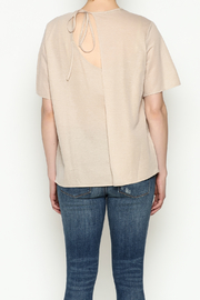 THINK CLOSET Simple Tie Tee - Back cropped