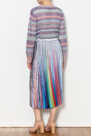 THINK CLOSET Sparkle and Stripes Top - Other