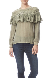 THINK CLOSET Victorian Fringe Top - Product Mini Image