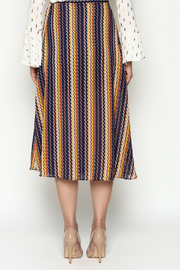 THINK CLOSET Wrap Skirt - Back cropped