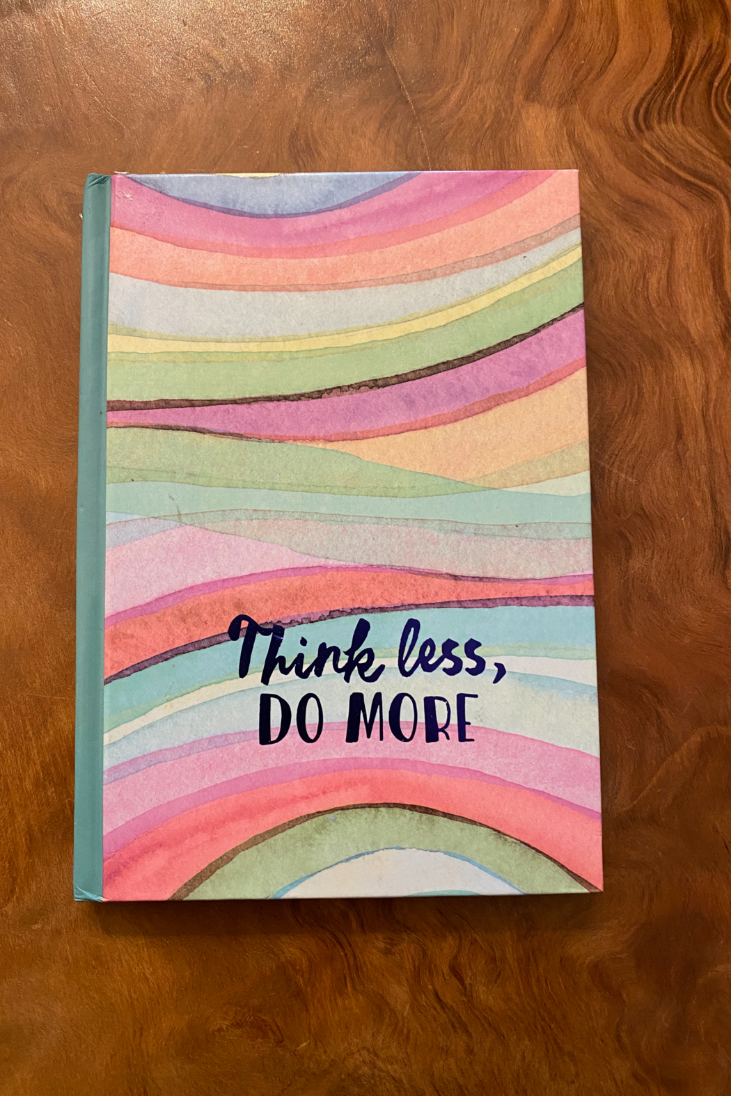 tesoro  Think Less Do More Multi Colored Journal - Main Image