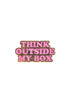 Shoptiques Product: Think Outside Pin