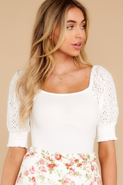 MinkPink Think Twice Bodysuit - Front cropped