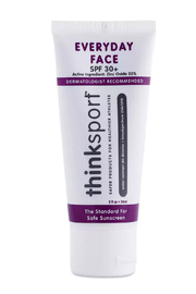 Thinksport Thinksun Every Day Face Sunscreen (2oz) - Naturally Tinted - Product Mini Image