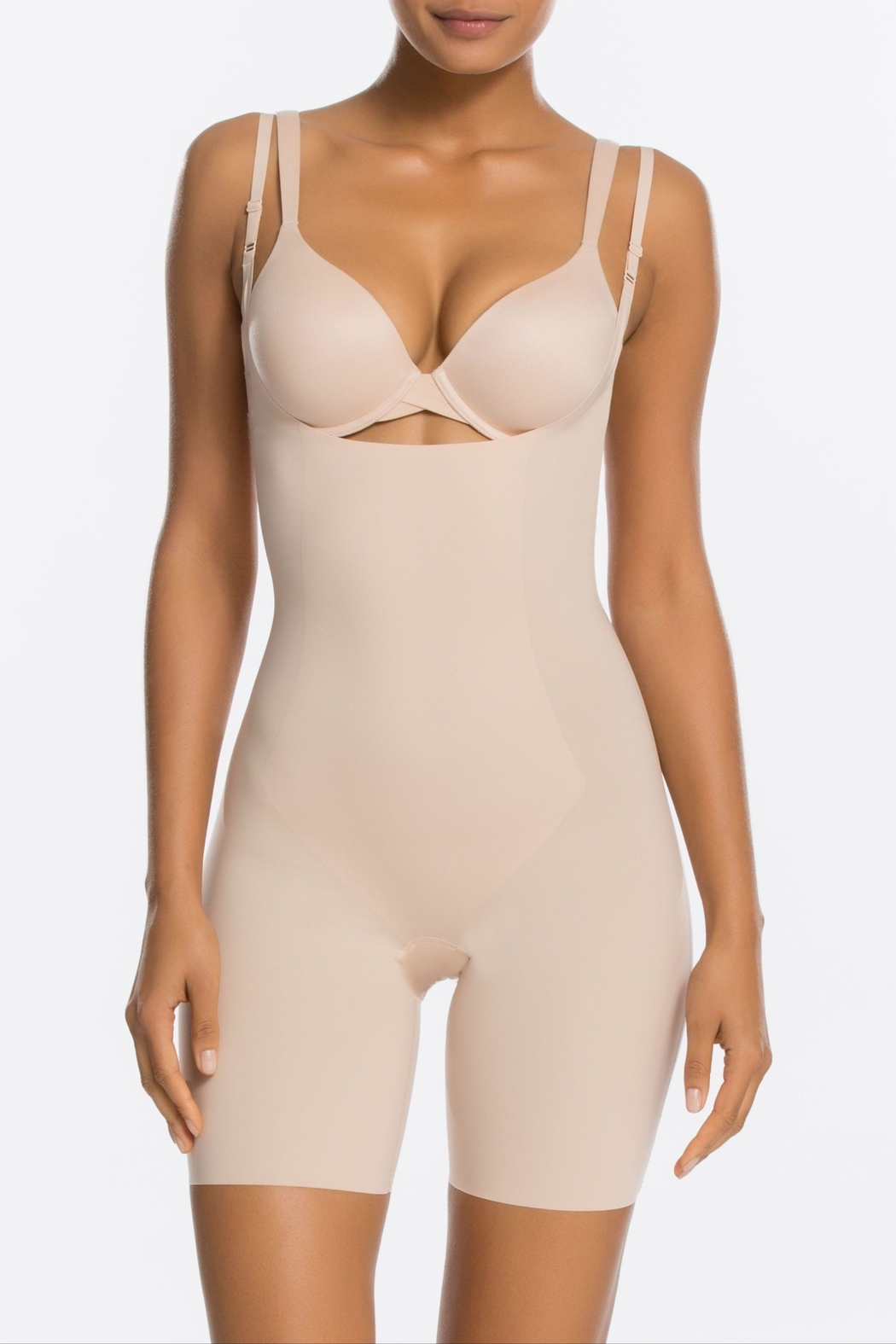 Spanx Thinstincts Open-Bust Bodysuit - Main Image
