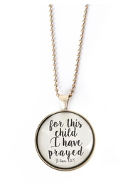 The Vintage Sparrow This Child Necklace - Product Mini Image