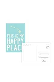 Soha Living This Is My Happy Place Postcard - Hawaii - Product Mini Image