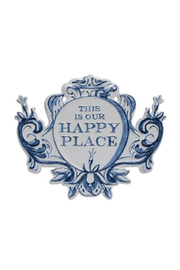 Maison A This Is Our Happy Place Sign - Product Mini Image