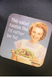 High Cotton This Salad Coaster - Product Mini Image