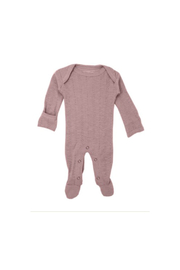 L'oved baby Thistle Pointelle Footie - Product Mini Image