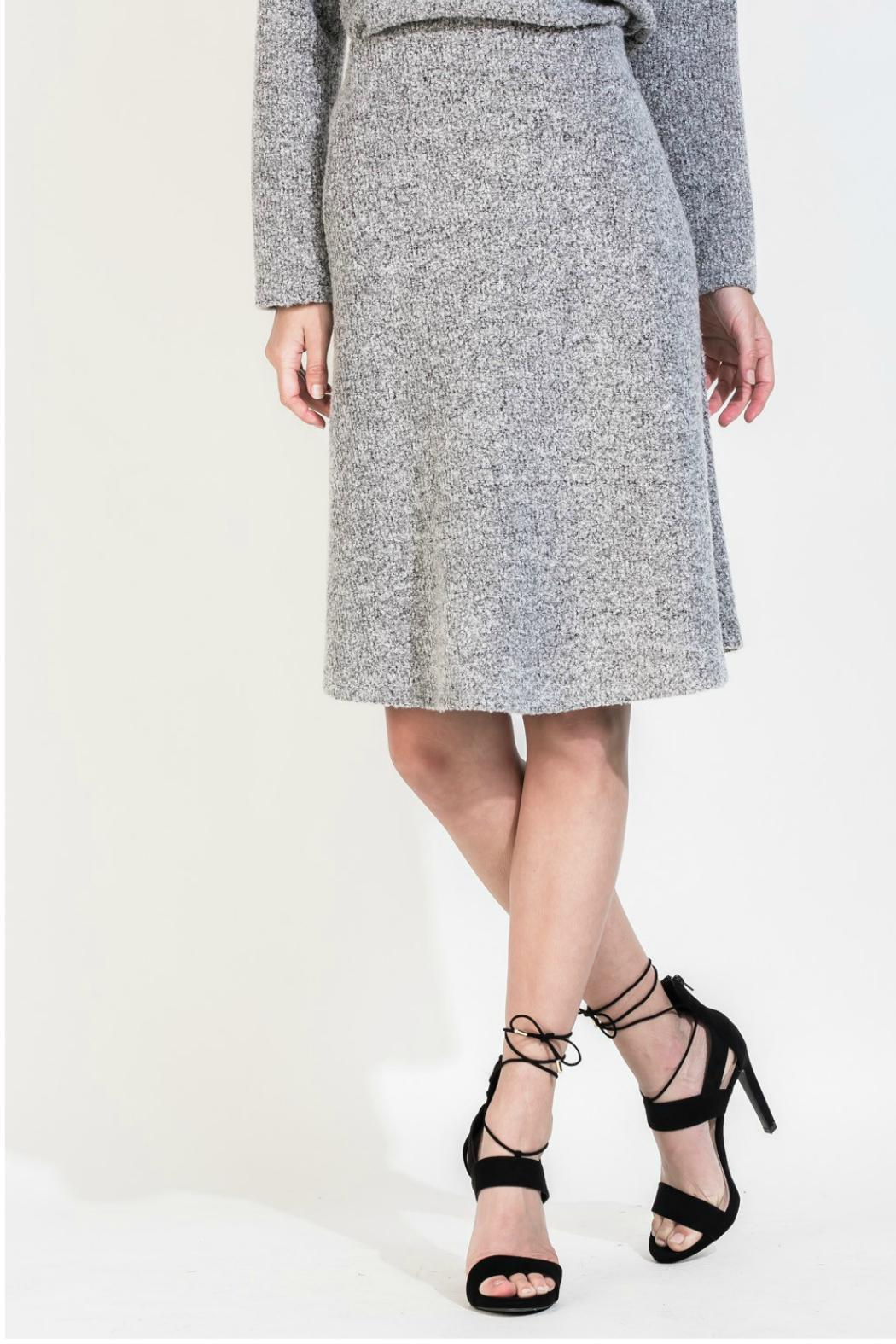 thml a line knit skirt from new york by gado gado shoptiques