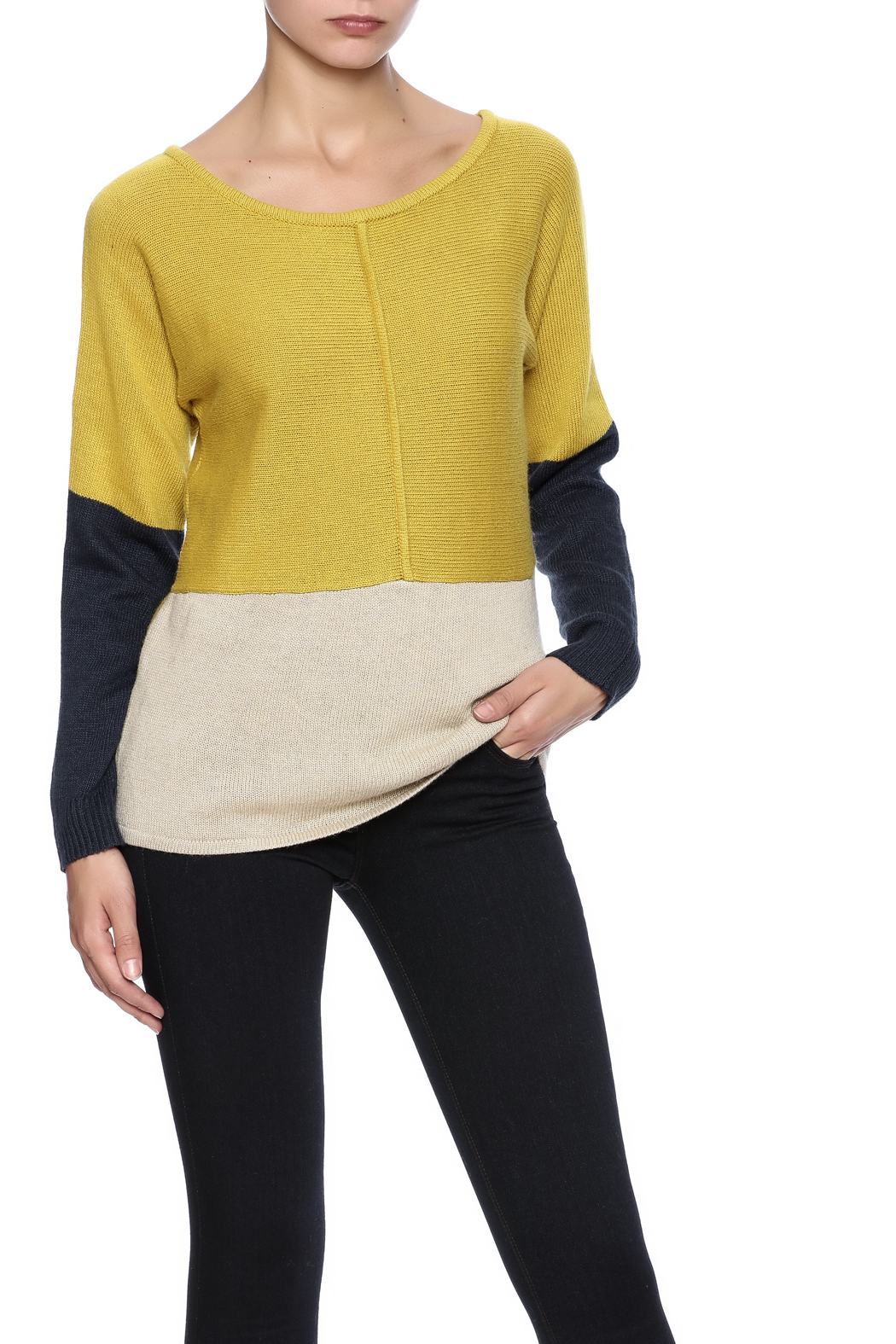 THML Clothing Colorblock Sweater from Florida by Leah ...