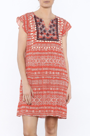 THML Clothing Coral Dreams Dress - Product Mini Image