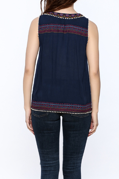 THML Clothing Pacifica Navy Top - Alternate List Image