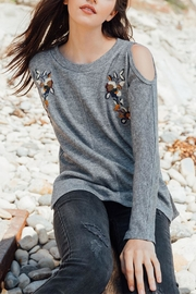 Thml Cold Shoulder Sweater - Product Mini Image