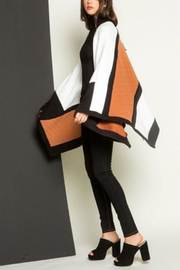 Thml Color Block Cape - Front full body