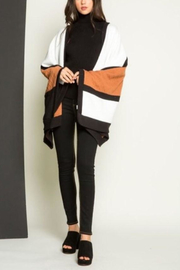 Thml Color Block Cape - Product Mini Image