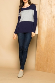 Thml Color Block Sweater - Product Mini Image
