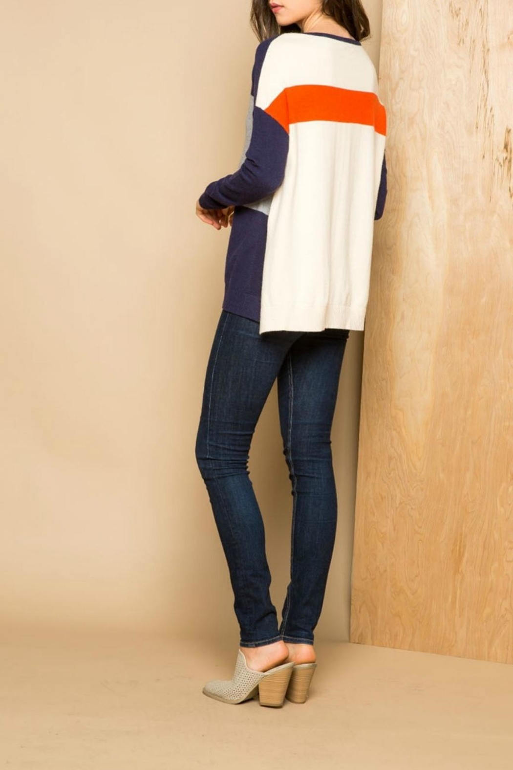 Thml Color Block Sweater - Front Full Image