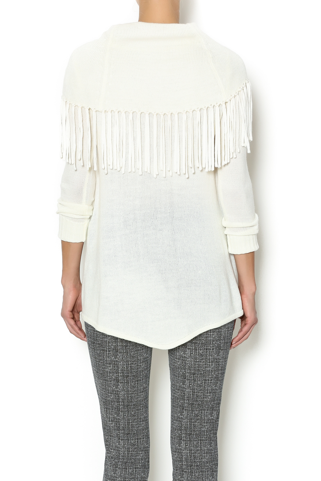 Thml Cowl Fringe Sweater from Montana by Apricot Lane - Missoula ...