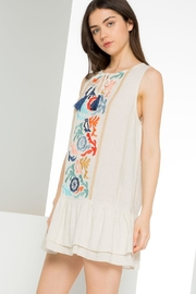 Thml Dropped Waist Dress - Front full body