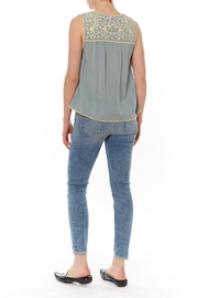 Thml Embellished Yoke Top - Front full body
