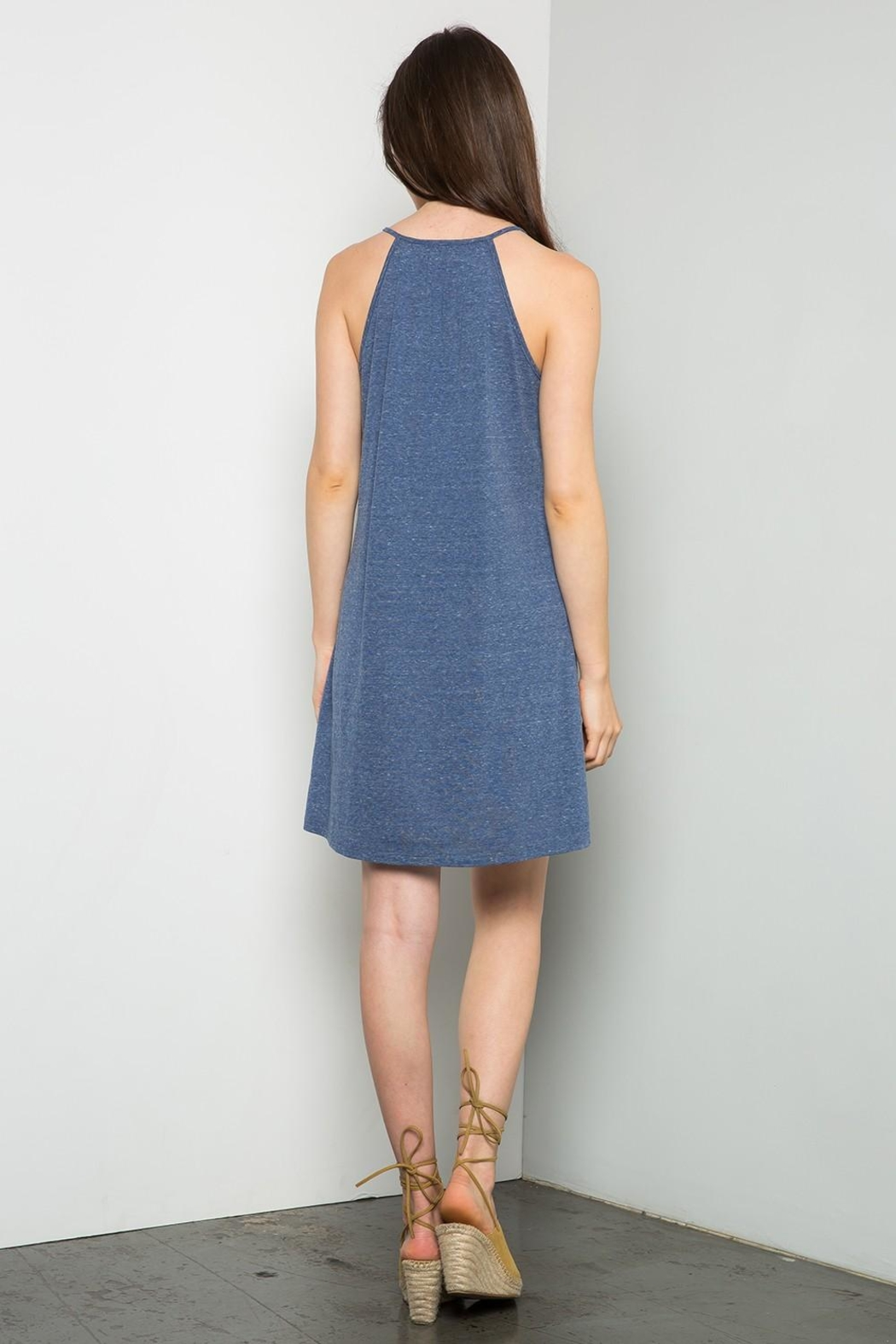 Thml Embrodiered Knit Dress - Front Full Image