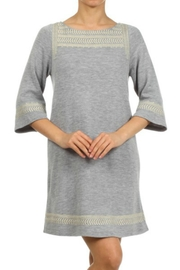 THML Clothing Embrodiery Knit Dress - Product Mini Image