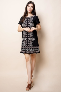 Thml Embroidered Cap-Sleeve Dress - Product List Image