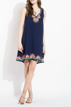 Shoptiques Product: Embroidered Detail Dress