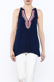 Thml Embroidered Nadia Top - Product Mini Image