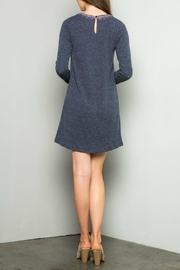 Thml Embroidered Rib Dress - Front full body