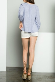 THML Clothing Embroidered Shirt - Side cropped