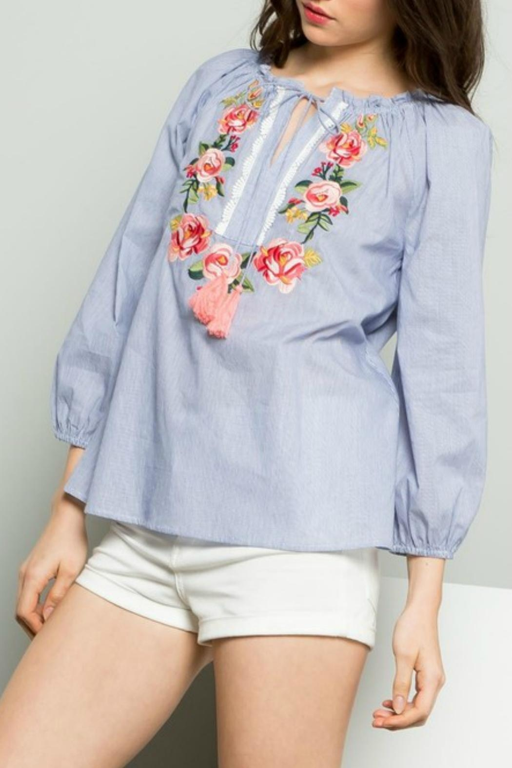 THML Clothing Embroidered Shirt - Main Image
