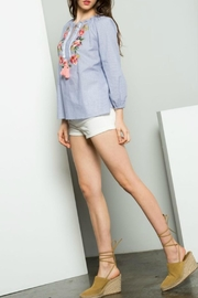 THML Clothing Embroidered Shirt - Front full body