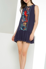 Thml Embroidered Sleeveless Dress - Product Mini Image